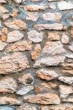 Ceglana kamienna ściana Zdjęcie Royalty Free