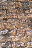 Ceglana kamienna ściana Zdjęcie Stock