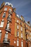 ceglana London dworu czerwień obraz stock