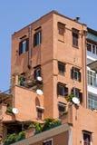 ceglana mieszkanie czerwień Zdjęcia Royalty Free