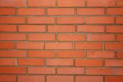 ceglana nowa ściana Obraz Stock