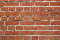 ceglana nowożytna ściana Zdjęcia Royalty Free