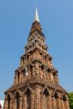 Ceglana pagoda Zdjęcie Stock