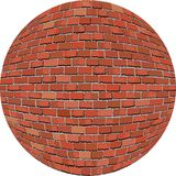 Ceglana piłka Fotografia Stock