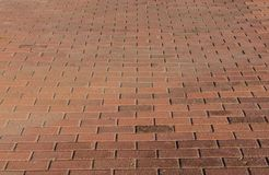 Ceglana podłoga Fotografia Stock