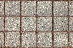 Ceglana podłogowa tekstura Zdjęcie Stock
