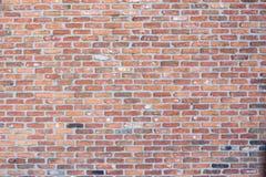 Ceglana real ściana Fotografia Stock