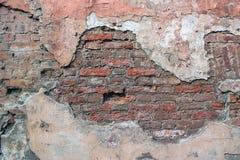 ceglana stara ściana zdjęcia royalty free