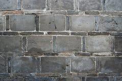 ceglana stara ściana Obrazy Royalty Free