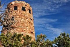 ceglana wieża obserwacyjna Fotografia Stock