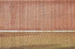ceglanego formata surowa ściana Fotografia Stock