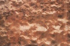 ceglanego formata surowa ściana Zdjęcie Stock