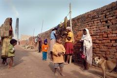 ceglanego pola hindus Zdjęcie Stock