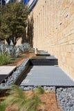 ceglanego ziemi kamienia unikalna ściana Fotografia Royalty Free