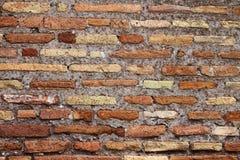 ceglanej czerwieni ściana wietrzejąca Zdjęcia Stock