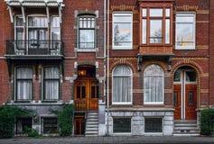 Ceglanej czerwieni budynek zdjęcia royalty free
