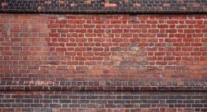 ceglanej czerwieni ściana Obrazy Stock