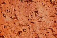 ceglanej czerwieni powierzchnia obraz stock