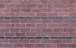 Ceglanej czerwieni tło z granicami wąska prostokątna kamień granicy tekstura Obrazy Stock