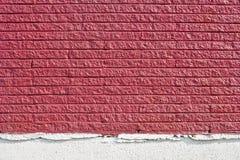 ceglanej czerwieni tekstury ściana Zdjęcie Stock