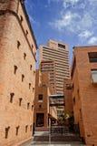 Ceglani domy przy Bogota zdjęcie royalty free