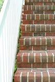 ceglani schody. Obraz Stock