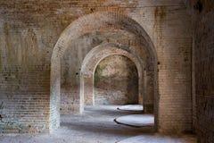 Ceglany Archway Zdjęcie Royalty Free
