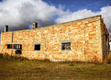 Ceglany dom Obrazy Stock