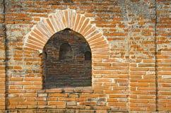 Ceglany Drzwiowy pałac Obraz Royalty Free