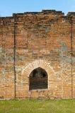 Ceglany Drzwiowy pałac Fotografia Royalty Free