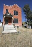 ceglany historyczny dom zdjęcie royalty free