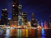 Ceglany miasta życie fotografia royalty free