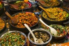 Ceglany pasa ruchu jedzenie Fotografia Stock