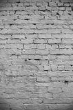 ceglany tekstury ściany biel Obraz Royalty Free