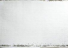 ceglany tekstury ściany biel Zdjęcia Stock