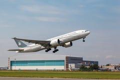 Ceiba Międzykontynentalne linie lotnicze Boeing 777 Zdjęcie Royalty Free