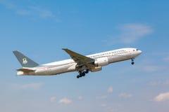 Ceiba Międzykontynentalne linie lotnicze Boeing 777 Zdjęcia Stock