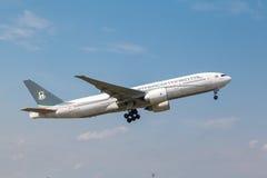 Ceiba Międzykontynentalne linie lotnicze Boeing 777 Fotografia Stock