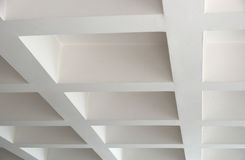 Ceiling. Picture of a white ceiling royalty free stock image