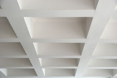 Ceiling. Picture of a white ceiling stock image