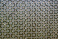Ceiling. Gold and Green Ceiling in Topkapi Palace Royalty Free Stock Photos