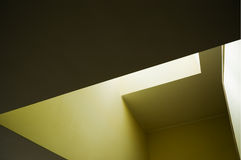 Ceiling. Light passing through the ceiling Royalty Free Stock Image