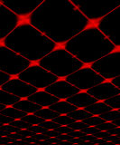 Ceiling. The abstract image of pink red shone ceiling Royalty Free Stock Photography