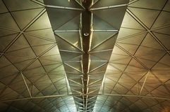 The ceiling of airport Royalty Free Stock Image