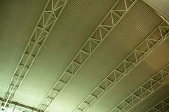 The ceiling of airport Royalty Free Stock Photos
