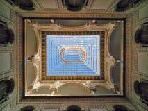 Ceiling of tha Alcazar palace. Ceiling of the Alcazar palace in Sevilla  Spain Stock Photo