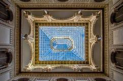 Ceiling at the Alcazar in Sevilla Stock Photo