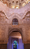Ceiling Alhambra Moorish Wall Designs Granada Andalusia Spain Stock Photo