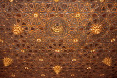 Ceiling of a andalusian palace Royalty Free Stock Images