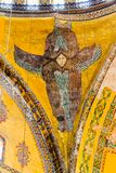 Ceiling angel in Hagia Sophia Istanbul Stock Images